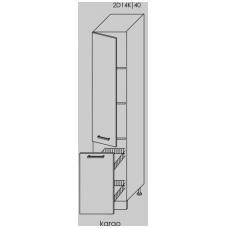TITANIUM pastatoma spintelė 2D14K/40+KARGO