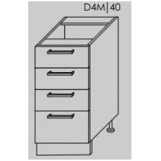 TITANIUM pastatoma spintelė D4M/40