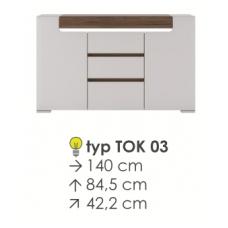 TORONTO komoda TOK 03